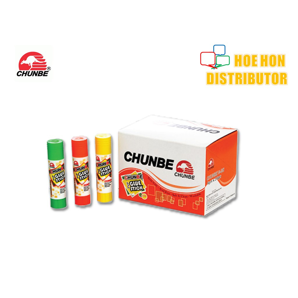 Chunbe Student Glue Stick 8g (Clear) 8-GS