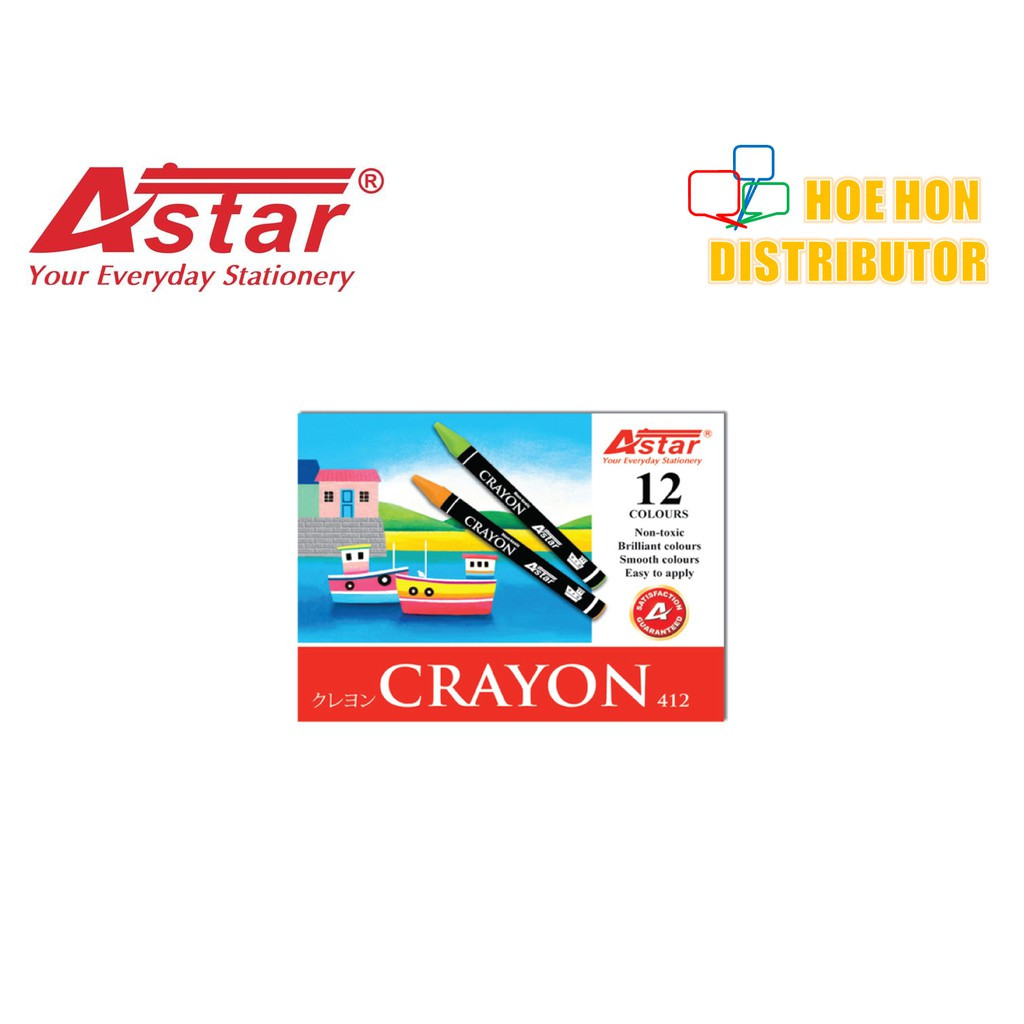 image of Economy / Budget Astar Crayon 12 Color