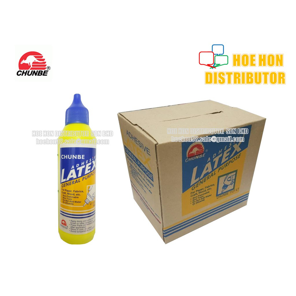 image of Chunbe Adhesive Latex Glue 4oz / 110g Easy Carry Bottle