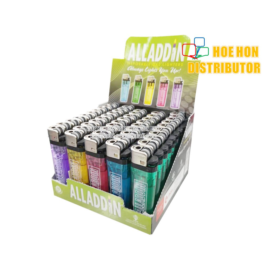 image of Outdoor Disposable Gas Alladdin Adjustable Lighter
