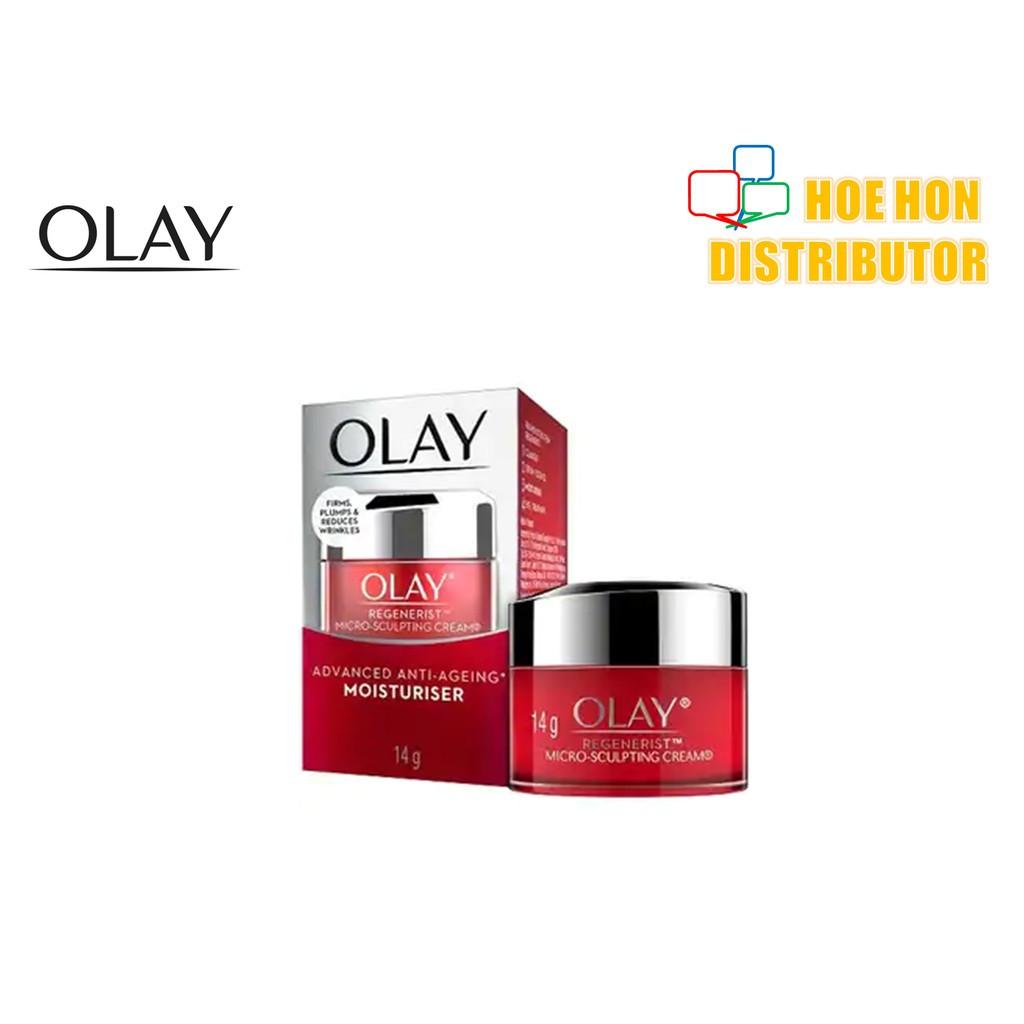 image of Olay Regenerist Micro-Sculpting Moisturiser Cream 14g 91197514
