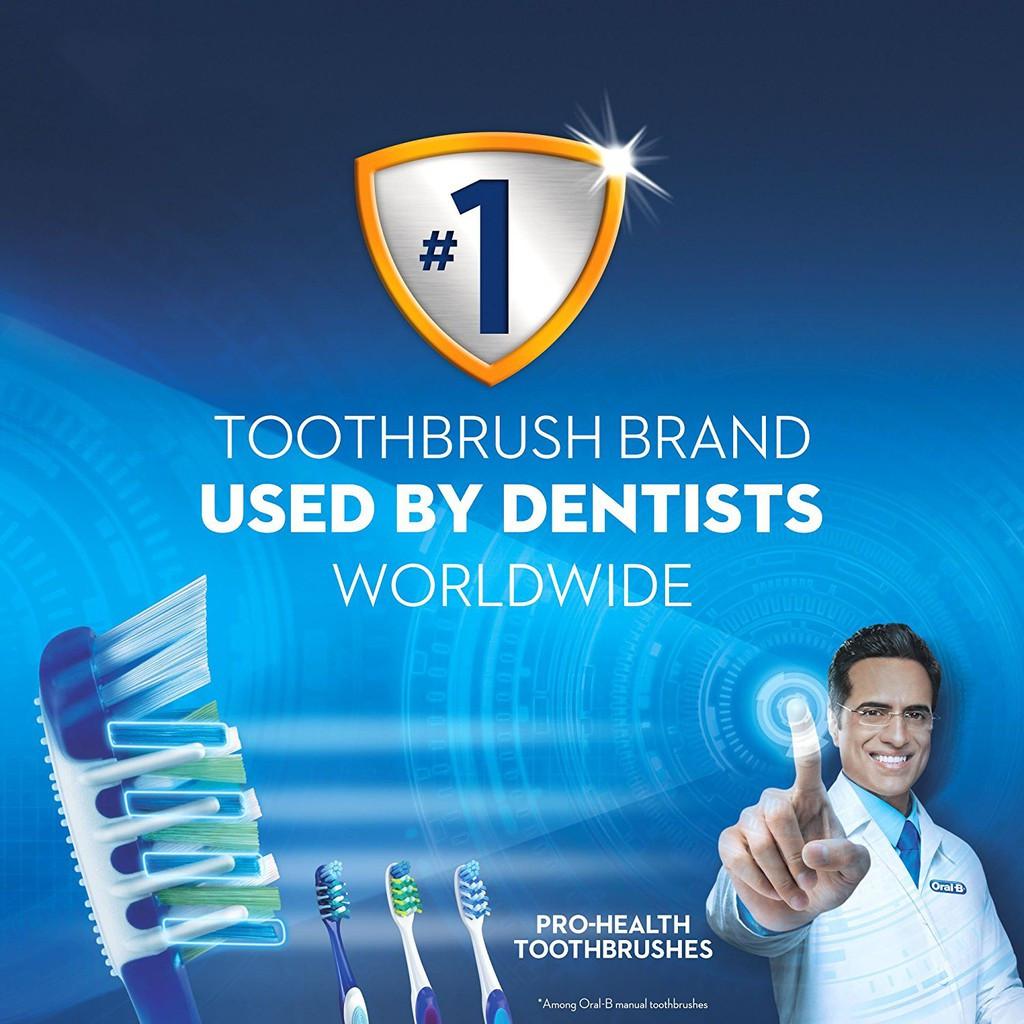 Premium Oral B Anti-Bacterial Pro-Health Soft Toothbrush 1 Unit (ORIGINAL)