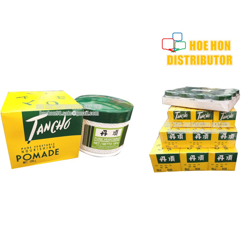 image of Tancho Pomade Hair Nourishing Pomade Minyak Rambut Pomade Tancho 130g