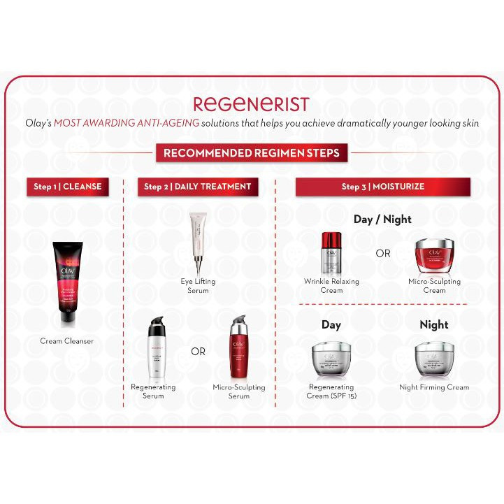 Olay Regenerist Advanced Anti Ageing Revitalising Cream Cleanser 100ml