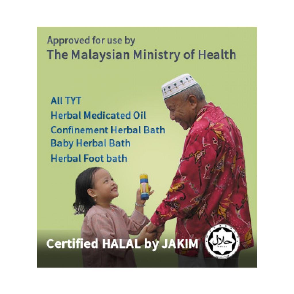 TYT Herbal Foot Bath / Herba Rendaman Kaki TYT 42g X 4 Sachet