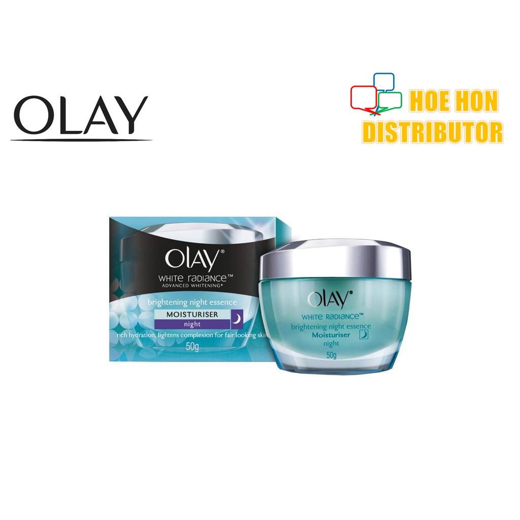 image of Olay White Radiance Advanced Whitening Brightening Night Cream 50g