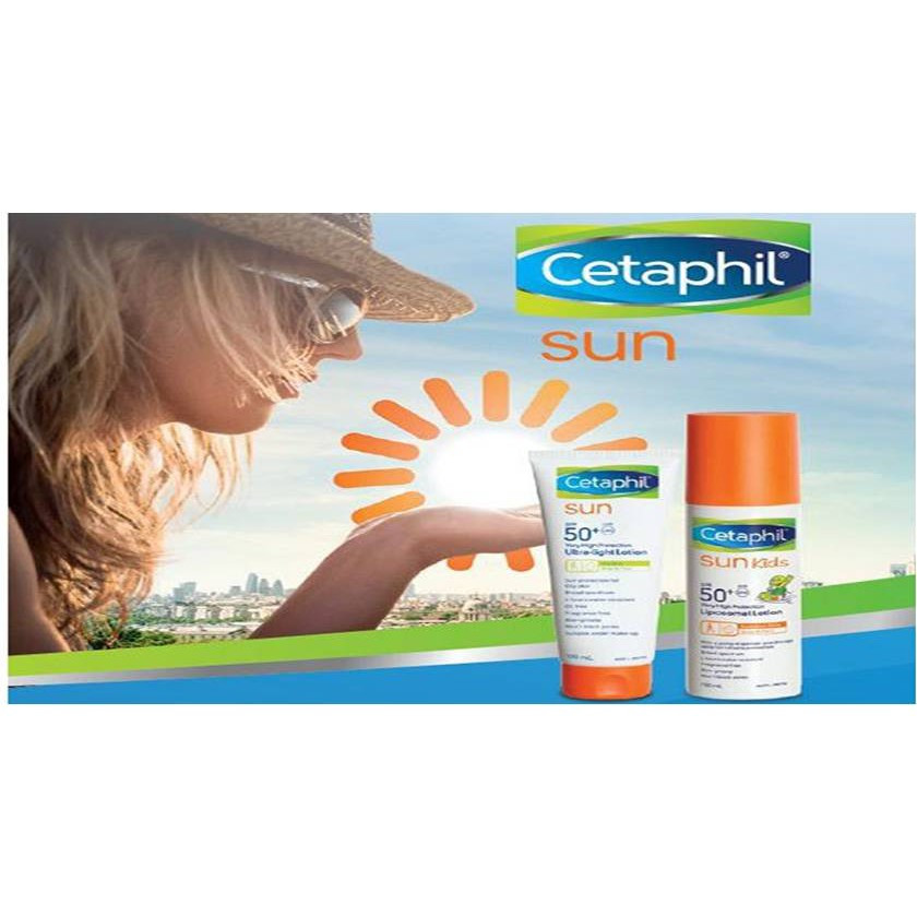 Cetaphil Sun Kids Liposomal Sensitive Skin Lotion SPF 50+ UVB UVA 150ml 286718
