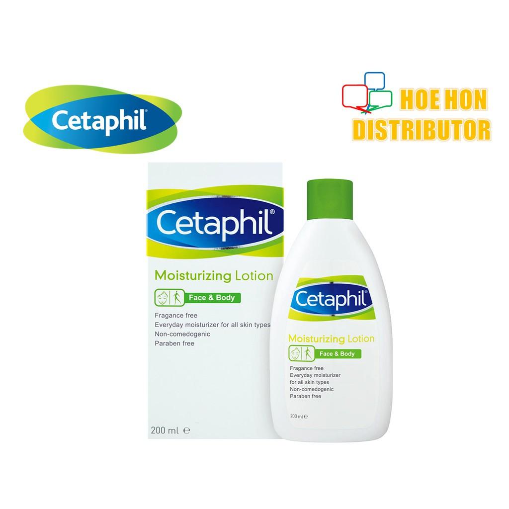 image of Cetaphil Moisturizing / Moisturising Lotion 200ml P26621-0