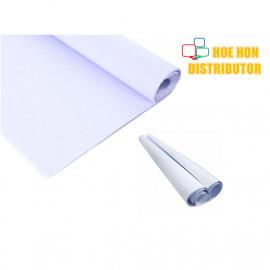 image of Multipurpose White Mahjong / Majong / DIY Flip Chart Paper 31 X 31 / 80cm X 80cm
