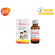 image of GSK Zentel / Ubat Cacing 400mg 10ml