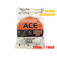 image of Uniace Double Sided Tissue Tape 1 Inch X 10 Yard / 24mm X 9 Meter