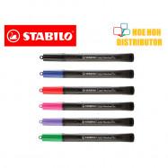 image of Stabilo Cappi Marker Pen 1.0mm Medium Point (Sharpie Maker Alternative)