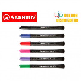 image of Stabilo Cappi Marker Pen 1.0mm Medium Point (Sharpie Maker Alternative)