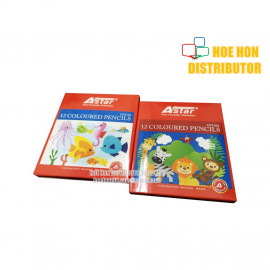 image of Economy / Low Cost / OEM Student Colour, Color Pencil 12 Short (Pencil Warna)