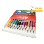 Economy / Low Cost / OEM Student Colour, Color Pencil 12 Short (Pencil Warna)