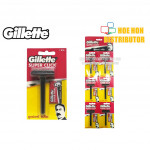 Gillette Super Click Refillable Razor Blade (Original) Gillette Super Nacet ER80