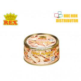 image of Rex Tuna Flakes In Oil Canned Food / Tin Tuna Kepingan Dalam Minyak 185g HALAL