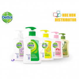 image of Dettol Antibacterial Original Liquid Hand Wash 250ml