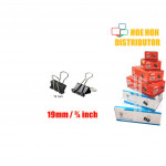 Multipurpose Binder Clips 19mm (3/4 Inch) 12pcs / Box