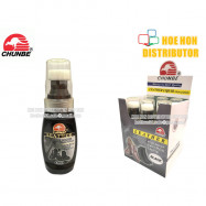 image of Chunbe Leather Liquid Shoe Polish Black 75ml / Penggilap Kasut 751