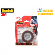 image of 3M Scotch Outdoor Permanent Mounting Tape 12mm X 1.5m (Small Roll)