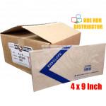 Long Brown Envelope / Sampul Surat 4 X 9 Inch / 101 X 228mm