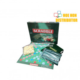 image of Scrabble Crossword Board / Family Game (Sahibba) Joint Thick Card Board Type