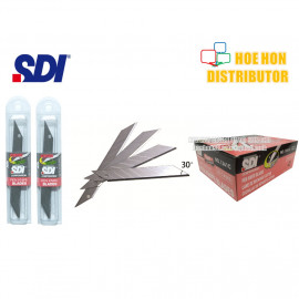 image of SDI 30 Degree Angle Snap Blade / Refill For SDI Cutter Knife 5pcs #1361C