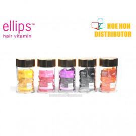 image of Ellipps Hair Vitamin Treatment Nutri Color Smooth Shiny Black Vitality 50 Capsul