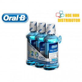 image of Oral-B Pro Health Tooth & Gum Care Mouth Rinse - Spearmint 500ml X 3
