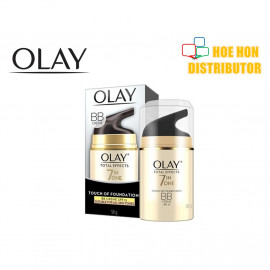 image of Olay Total Effects (7 In One) Touch Of Foundation BB Creme SPF 15 50g