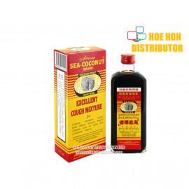 image of Sea Coconut Cough Mixture 177 ML (Ubat Batuk Cap Kelapa Laut) Cough Syrup