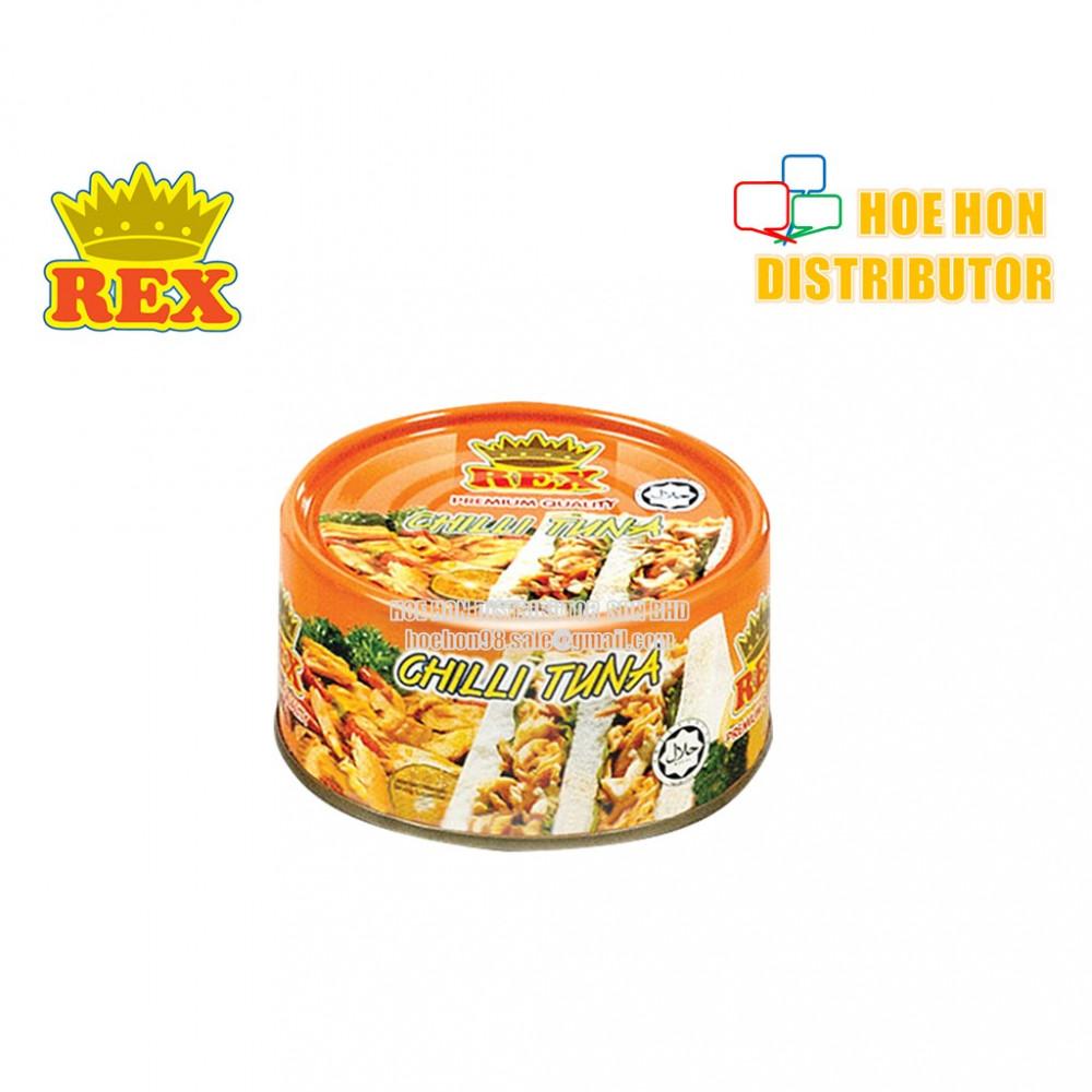 Rex Chili Tuna / Tuna Cili 185g (HALAL)