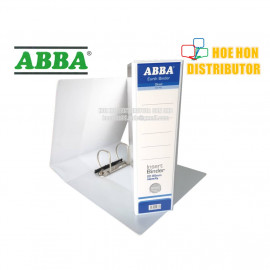 image of ABBA White Insert Binder 2D Ring File / Fail Putih 65mm