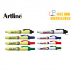 Artline Clix / Retractable Permanent Marker 1.5mm EK - 73 / 4.0mm EK - 93