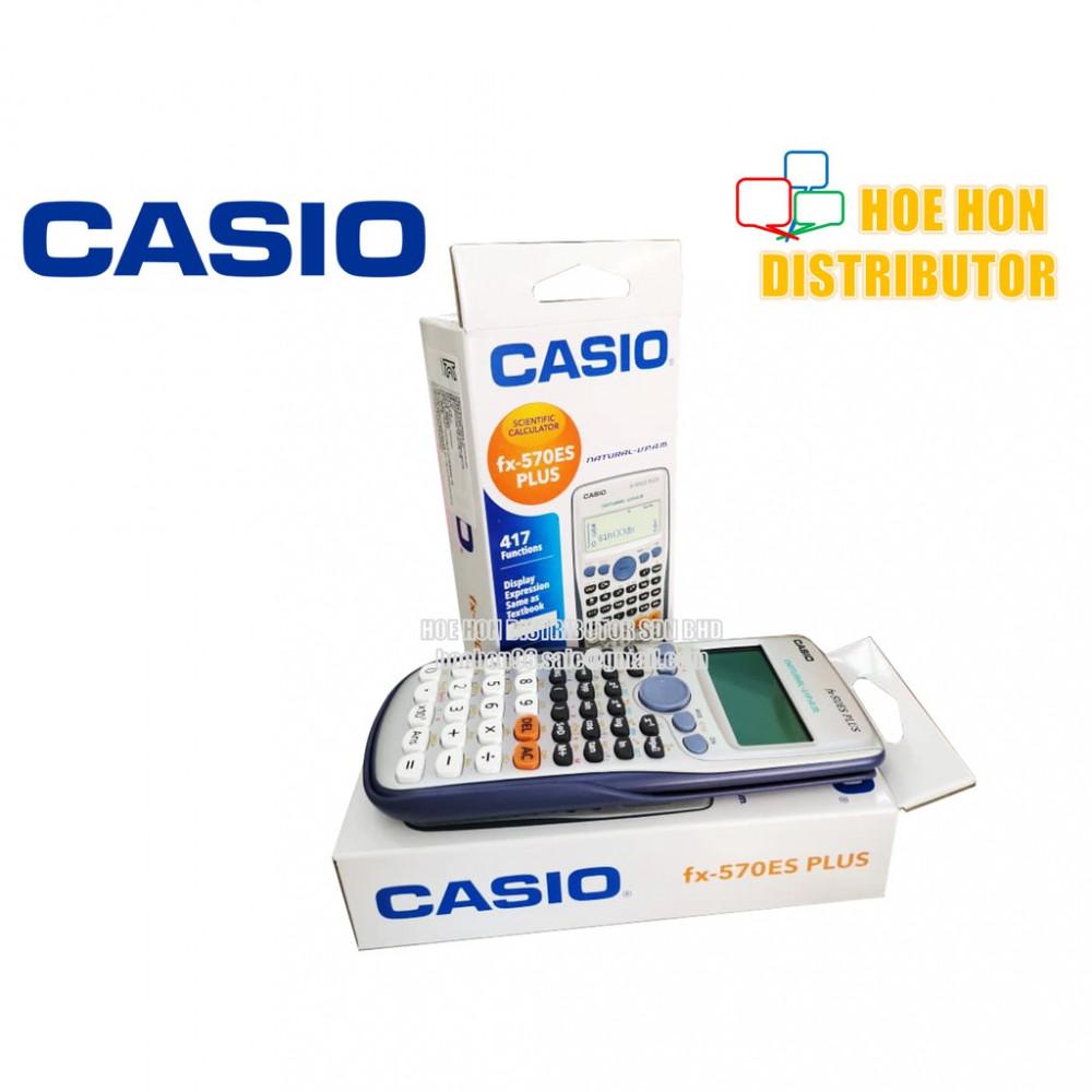 Casio Scientific Calculator Fx-570es Plus / Kalkulator 570 (ORIGINAL)