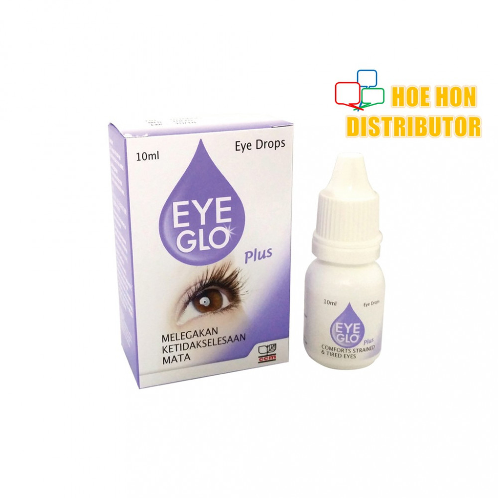 Eye Glo Plus 10 Ml Ubat Mata, Eye Drop, Eye Mo