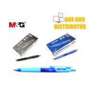 image of M&G RX-500 RX-700 Retractable Gel Pen 0.5mm 0.7mm Black Blue Red