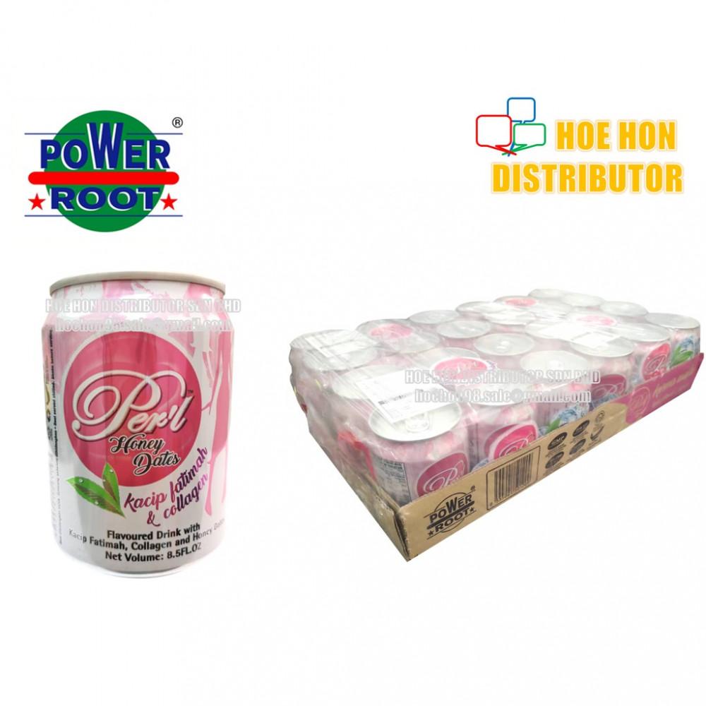 Power Root Perl Honey Date /Kwima Madu Kacip Fatimah & Collagen Drink 250 Ml