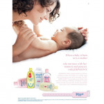Johnson's Baby Aloe Vera Oil / Minyak Bayi Johnson 125ml Green