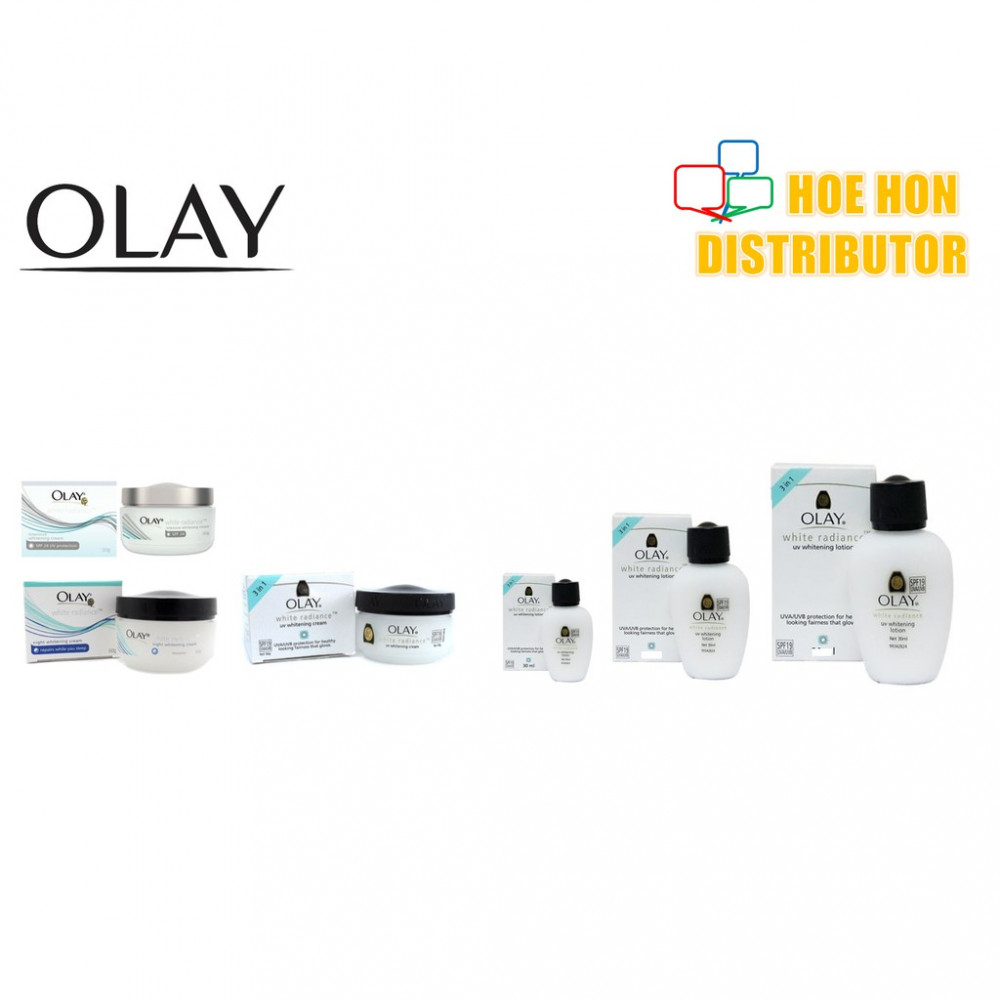 Olay White Radiance UV Whitening Cream / Sun Block / Sun Screen (ALL Types)