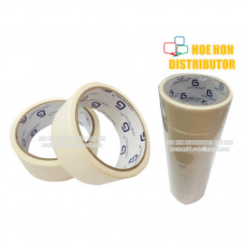 image of Masking Tape 36mm X 12m + / 1 1/2 Inch X 14 Yard