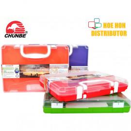 image of Chunbe Document Case F4 Handle Multipurpose Case 55mm 8822