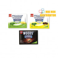 image of Woods Extra Strong Lozenges Sore Throat Peppermint Drops Sugar Free Sakit Tekak