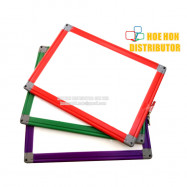image of Student / Office / Lecture Hand Magnetic A4 Whiteboard PVC Frame 32 X 24cm
