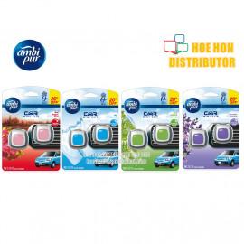 image of Ambi Pur Car Mini Clip Air Freshener 2ml X 2 (Pengharum Mobil)