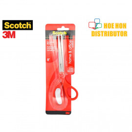 "image of 3M Scotch Home & Office Scissor / Gunting 8"" / 8 Inch 1408"