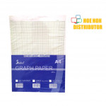 A4 Graph / Square 6mm / Iso Metric / Science Graph Paper 60gsm 70gsm 480pcs