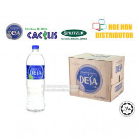 image of Desa (Cactus / Spritzer) Mineral Water 1500ml / 1.5L