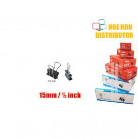 image of Multipurpose Binder Clips 15mm (1/2 Inch) 12pcs / Box